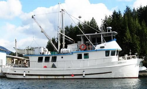 1941 Mclean's Shipyard Converted Seiner