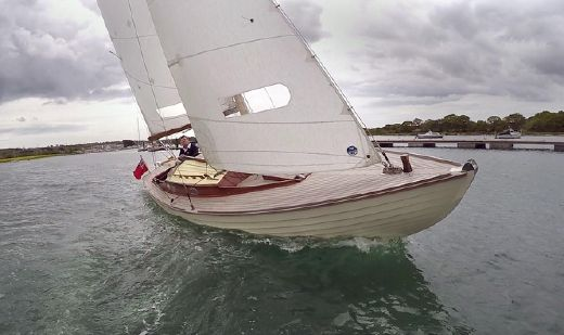 1957 Folkboat 25