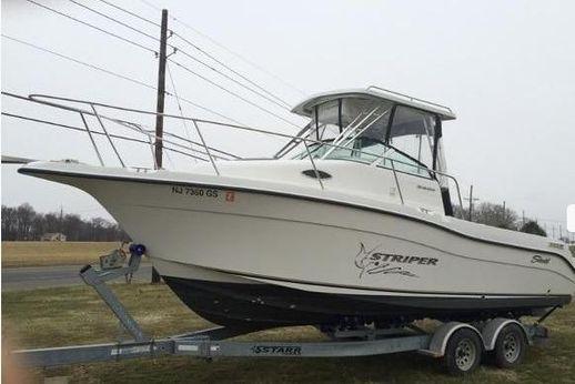 2003 Seaswirl Striper 2601 Walkaround I/O