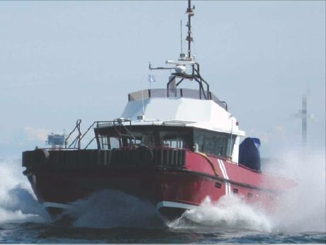 2005 Water Jet Wind Farm - Crew Workboat