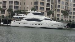 2001 Monte Fino Skyloung Wide Body Motor Yacht