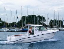 2008 Poseidon Kingfisher 720 - Outboard