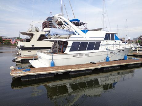 1987 Bayliner 4588 Pilothouse