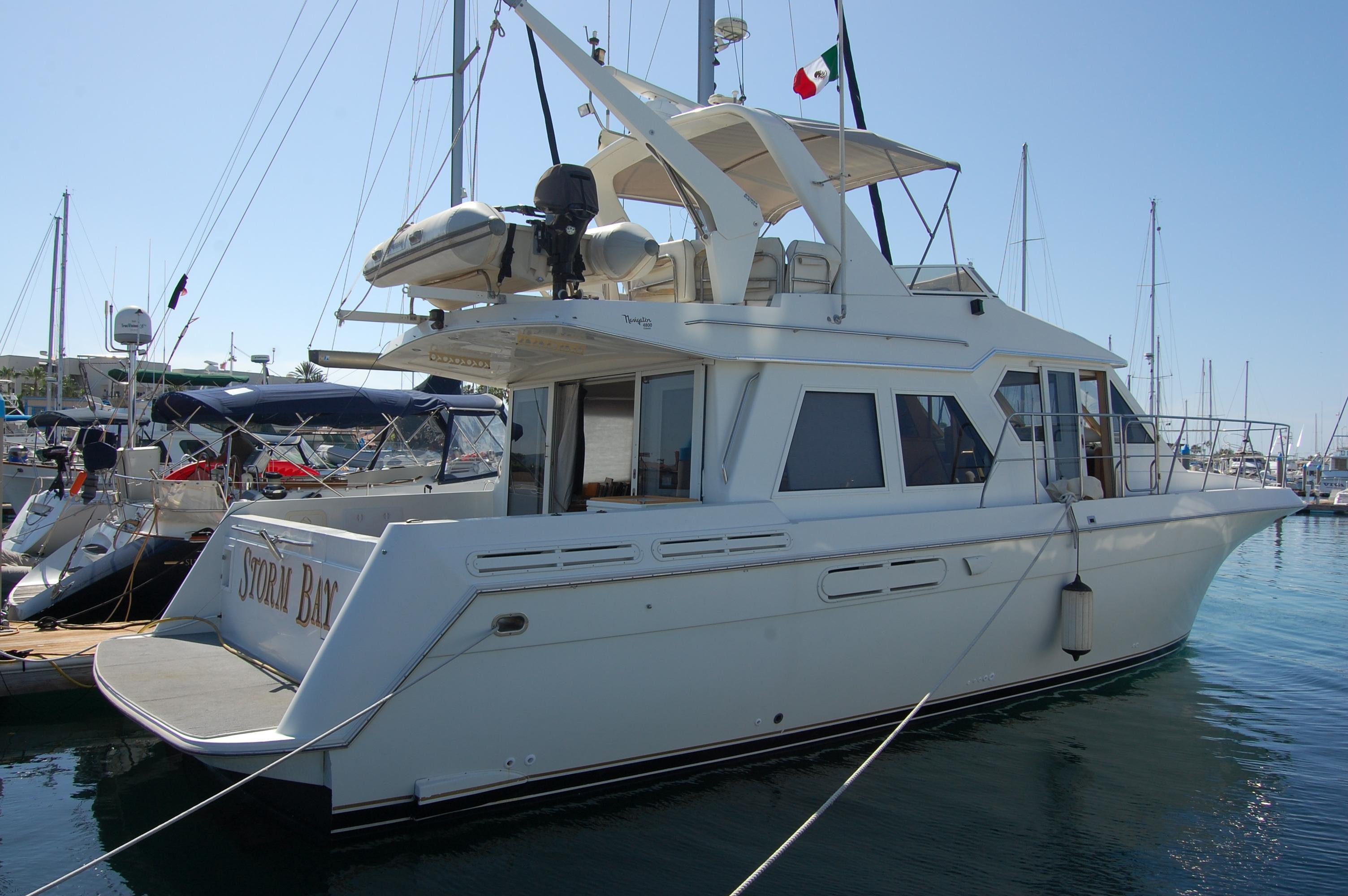 48' Navigator Classic 4800 Cruiser+Boat for sale!