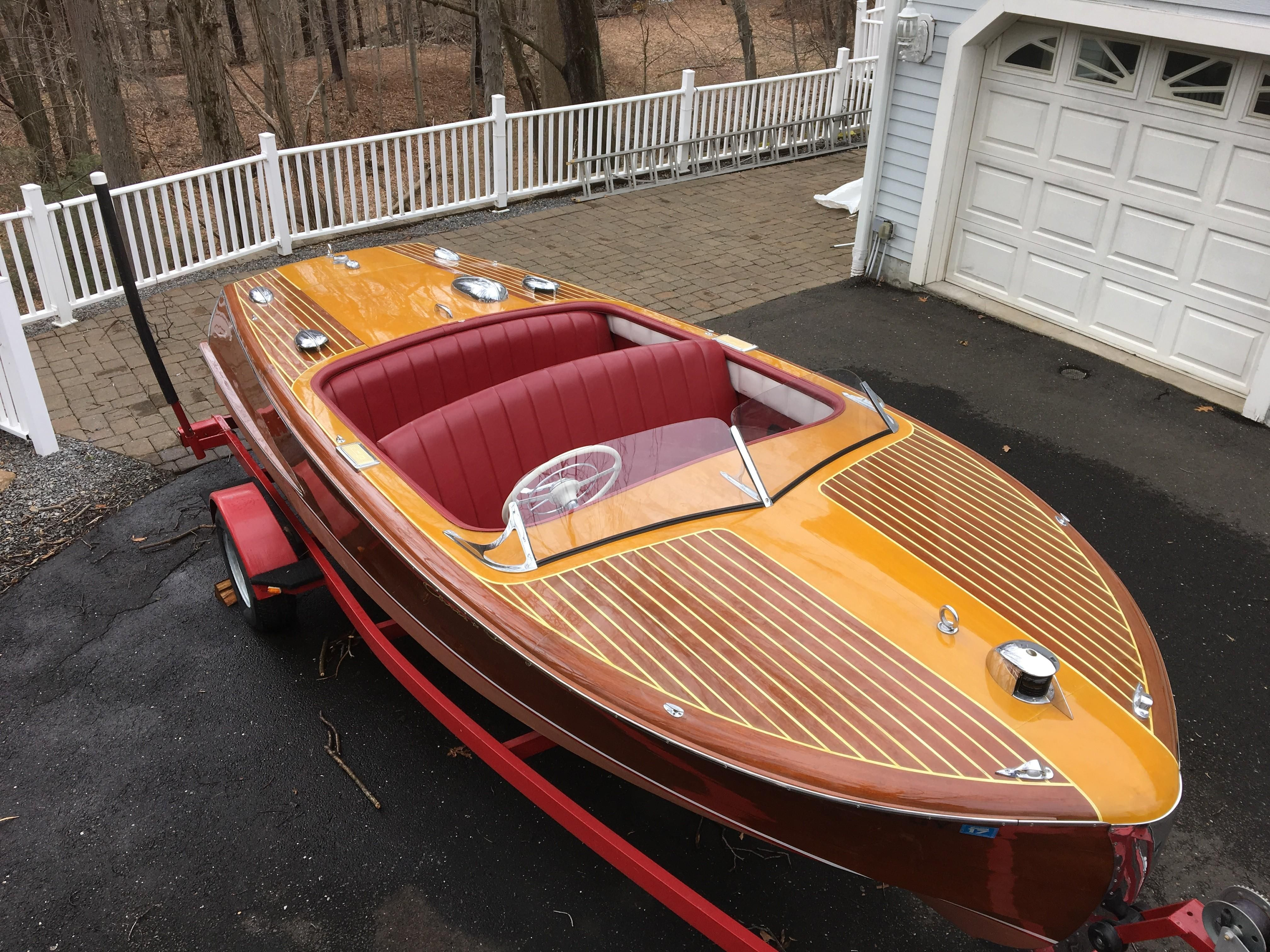 1950 Chris Craft Riviera Power Boat For Sale Www