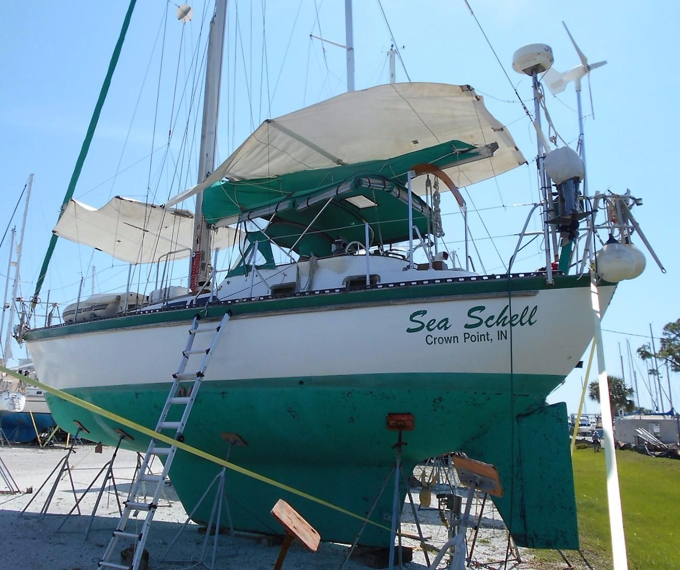 Used Car Dealerships In Port Charlotte Fl: 1981 Tayana Vancouver 42 CC Sail New And Used Boats For Sale