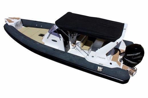 2018 Tiger Marine 850 Top Line Cabin RIB