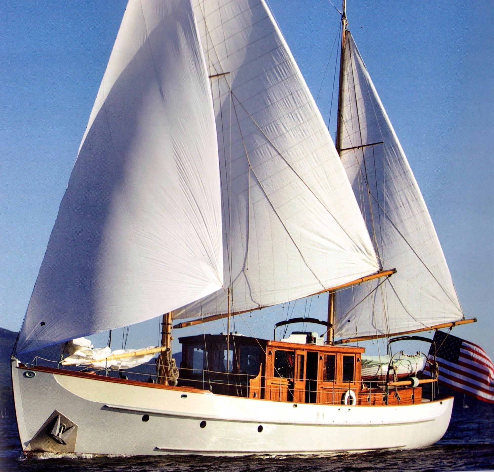 Tradewinds Generators: 1938 Alden Motor Sailer Power Boat For Sale