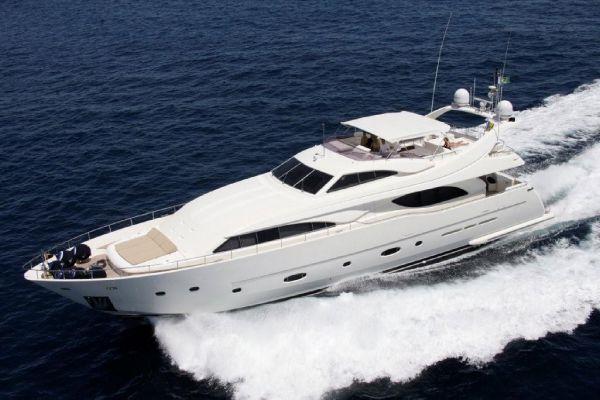 Ferretti Custom Line RPH Motor Yacht w/4 ARG stabilizers Type Motor