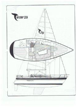 1987 Tanzer 29