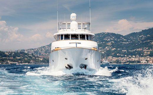 1993 Rossato Shipyard classic motor yacht