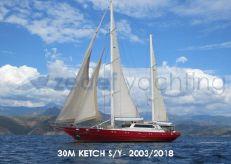 2003 Custom KETCH SAILING YACHT