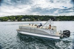 2015 Harris 240 Solstice SL Tritoon with 300 Verado
