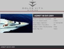 2009 Azimut 68E
