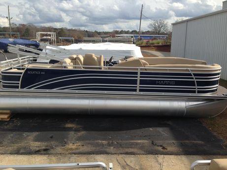 2015 Harris 240 Solstice DL Tritoon with 300 Verado