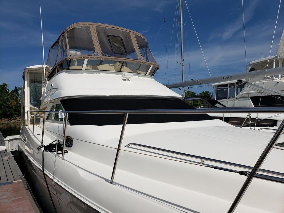 Magnificent 2000 Sea Ray 420 Aft Cabin Motor Yacht For Sale Yachtworld Creativecarmelina Interior Chair Design Creativecarmelinacom