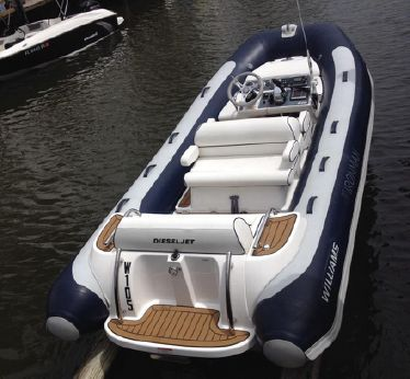 2013 Williams Jet Tenders Turbojet 445 DJ