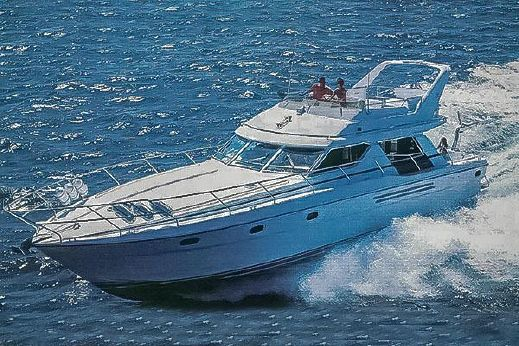 1992 Princess 55 flybridge