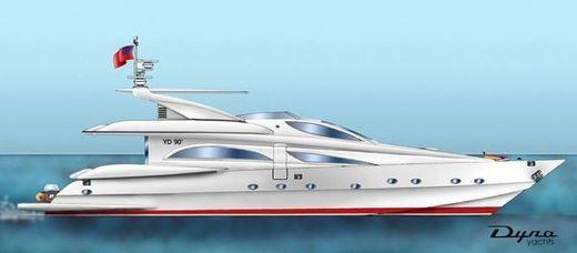 2005 Dyna Yachts Custom Lines