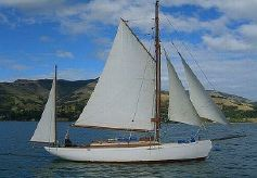 1937 Anderson And Son Gaff Rigged Yawl