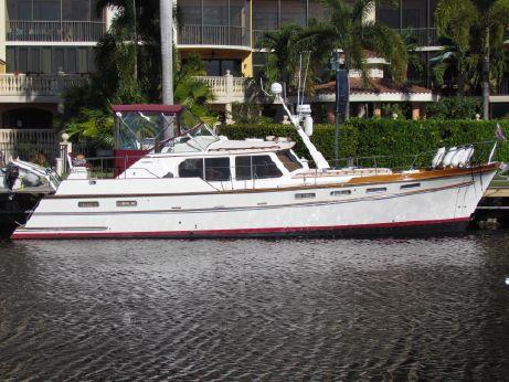 1998 Custom Covey Island B/W 50 Trawler