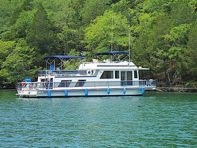50 ft 1992 gibson 14 x 50 houseboat standard