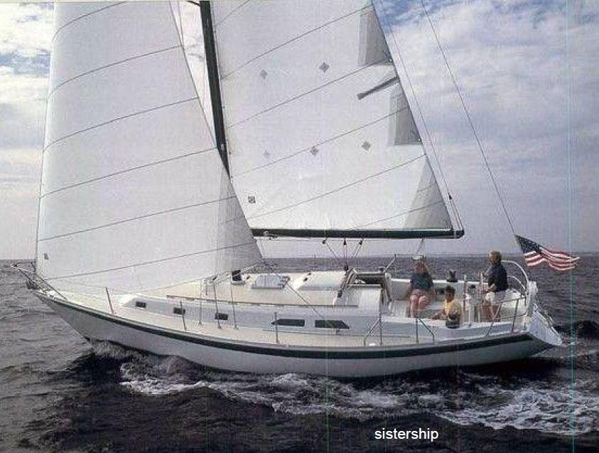 1986 Ericson 38 200 sailboat for sale.