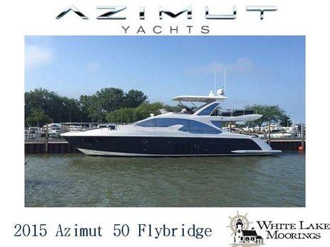 2015 Azimut 50 Flybridge