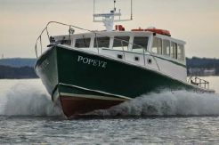 2004 H&H Downeast Lobster Yacht, Willis Beal Design - Research Patrol Picnic Cruiser