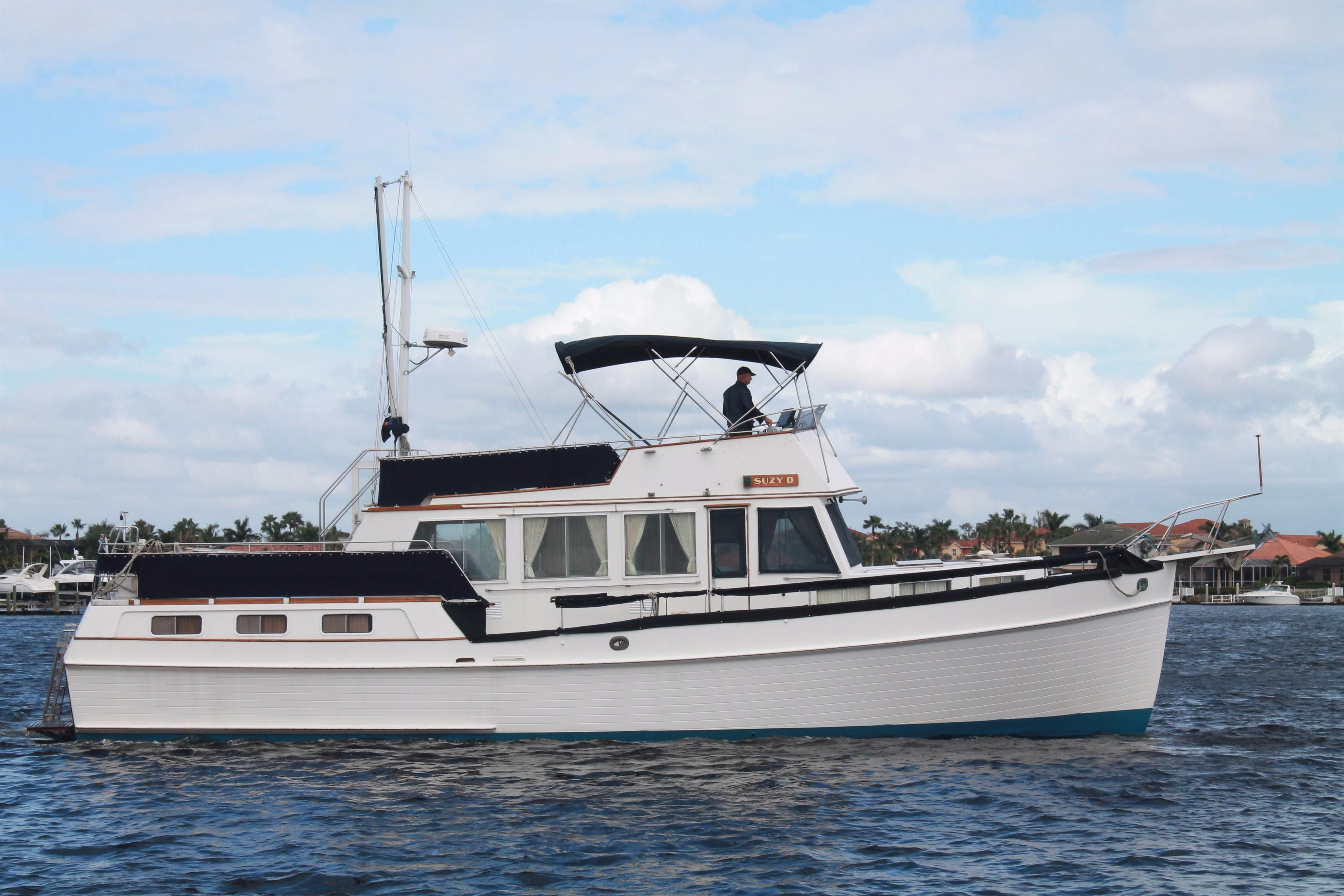 1987 grand banks 49 motor yacht power boat for sale www for Grand banks motor yachts for sale