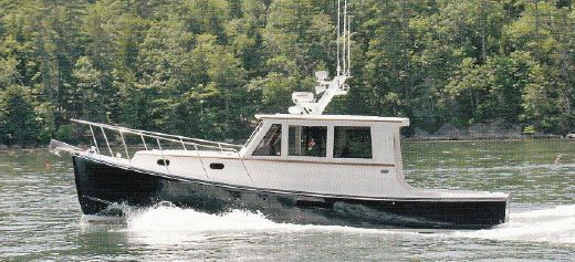 2001 Newman Farrins Hardtop Lobster Yacht