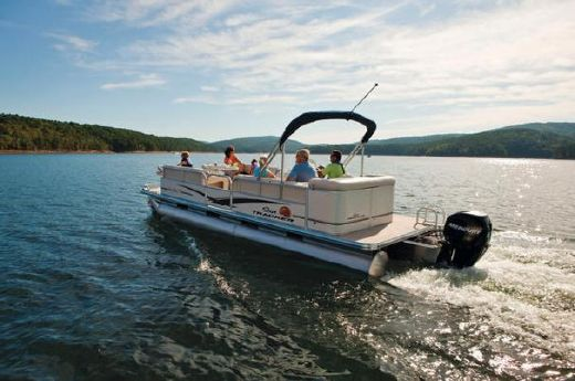 2010 Sun Tracker PARTY BARGE 24 Classic Series