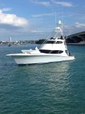 2014 Hatteras GT63 Enclosed Bridge