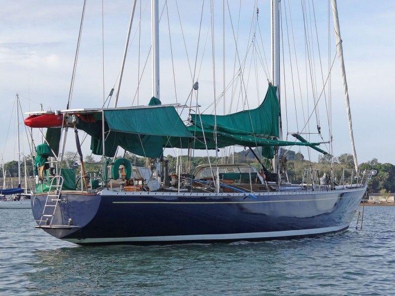 1981 Aluminium Custom 21 M Yacht Sail Boat For Sale Www