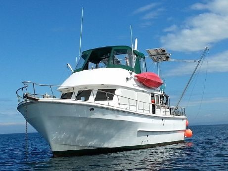 1987 Chb 42 Aft Cabin Trawler