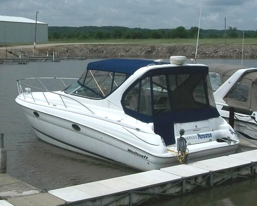 2000 wellcraft 3300 martinique power boat for sale