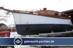 1975 Japanisches Rettungsboot Umbau 1985 zum Segler