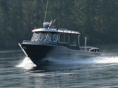2007 Aluminum Fishing Boat - Wolf Mfg. West Coast Cruiser