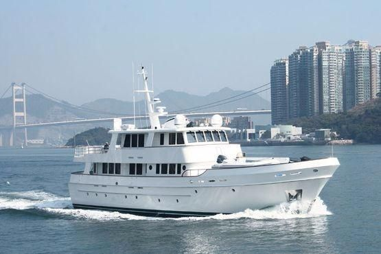2016 Cheoy Lee Serenity 90 Expedition Motor Yacht Power