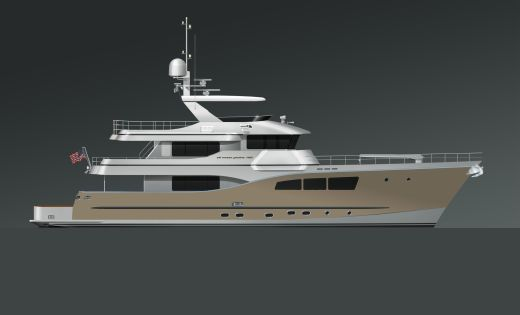 2017 All Ocean Yachts Tri-Deck Explorer Yacht