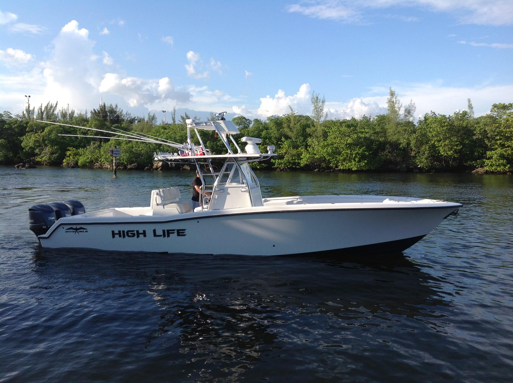 36 36 Invincible 2012 36 Foot 2012 Boat In Key West Fl
