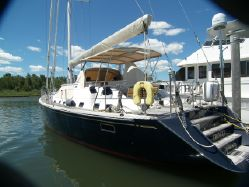photo of  66' Hylas 66 Pilot House