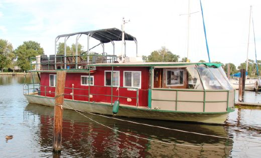 1962 Kelly Houseboat 50