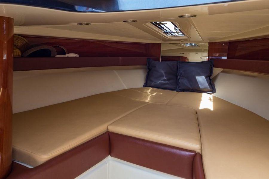 Riva Aquariva Super Yacht Interior Bed