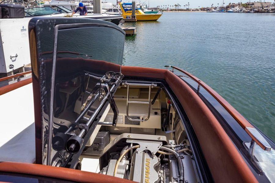 Riva Aquariva Yacht Engine Bay
