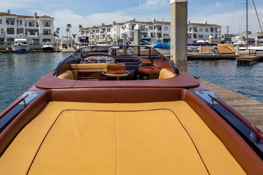 Riva Aquariva Yacht Back Lounge
