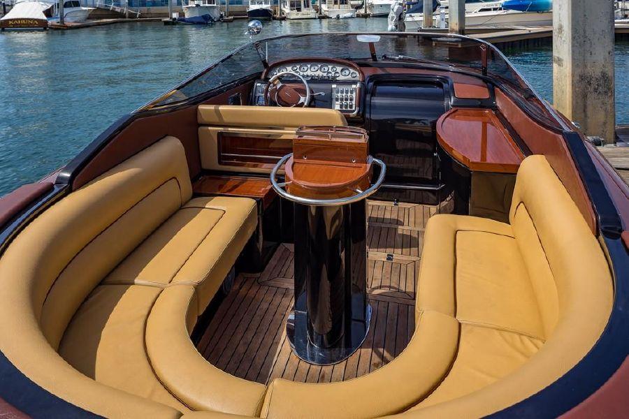 Riva Aquariva Super Yacht Interior Seating
