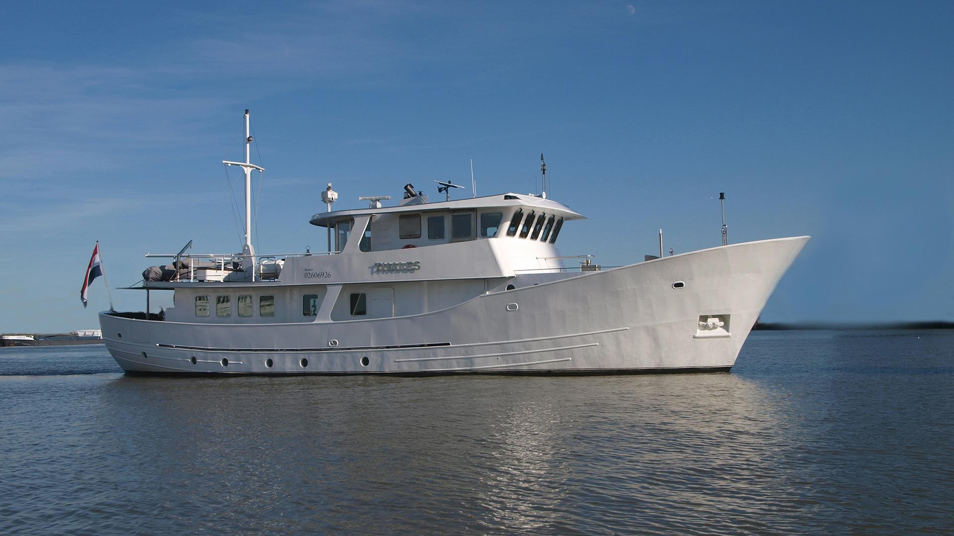 2003 Metz Roode Trawler Charter Power Boat For Sale - www.yachtworld.com