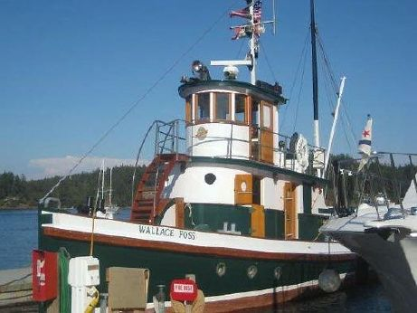 1897 Tacoma Shipyard Tugboat