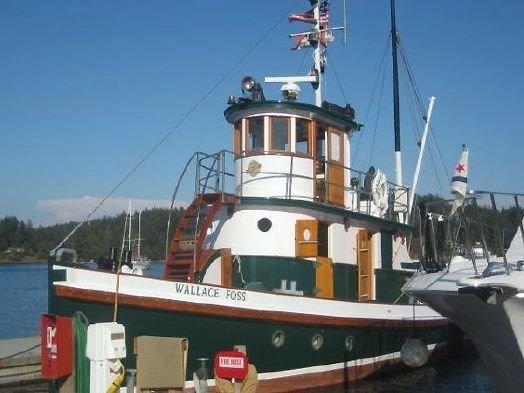 1897 Tacoma Shipyard Tugboat Power Boat For Sale - www ...